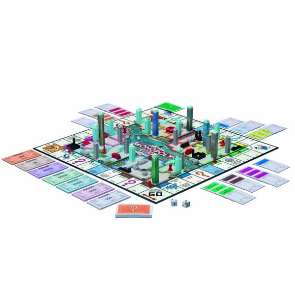 Monopoly City 3D Board Game.