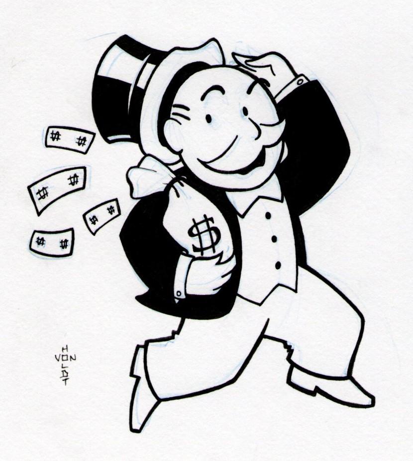 Monopoly clip art.