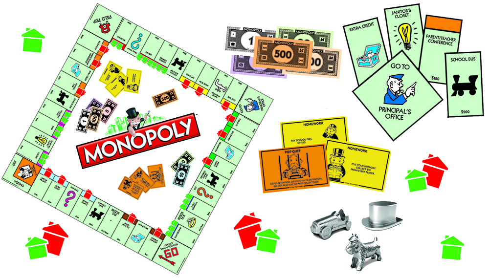 Clipart Monopoly Game.