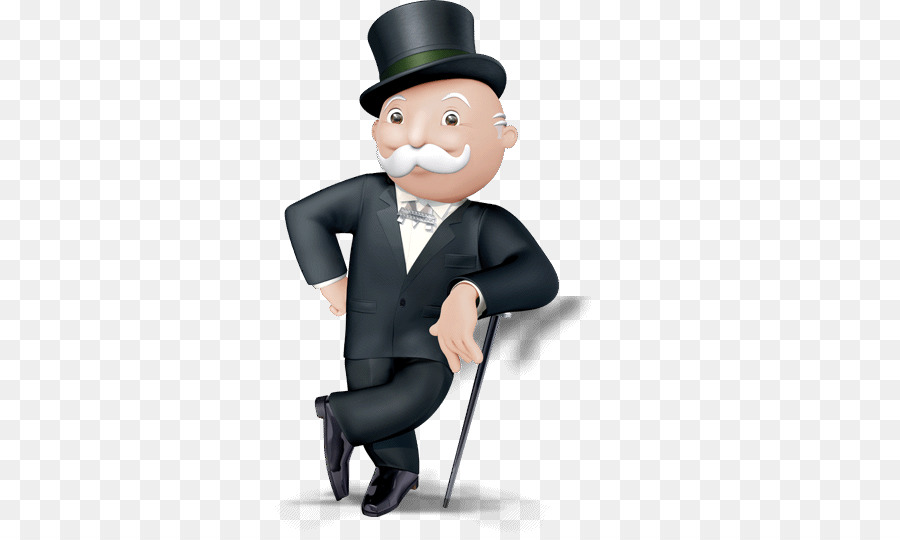 Rich Uncle Pennybags Standing.