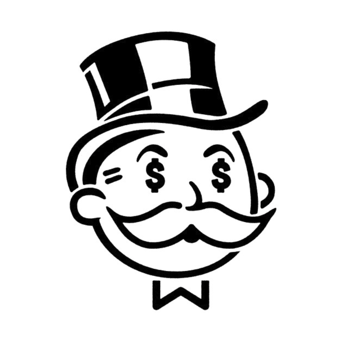 Monopoly Man Drawing.