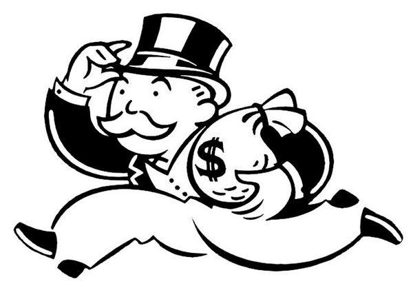 The Man Behind the Monopoly Man.