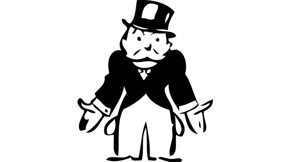 Monopoly Man Clipart Black And White Clipground