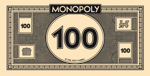 Print your own (Monopoly) money.