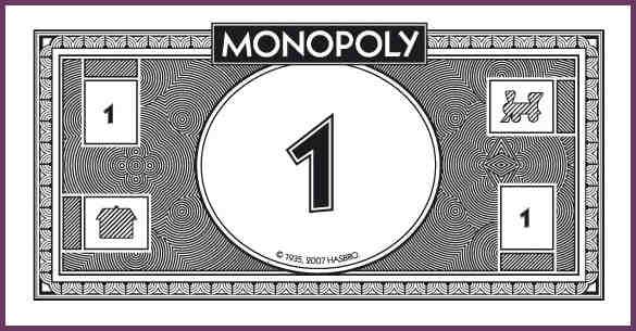 MONOPOLY MONEY TEMPLATE.