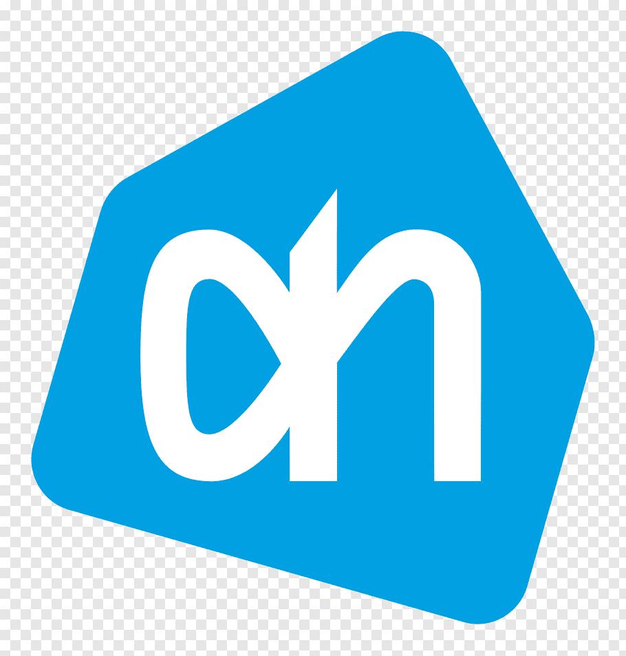 White on logo, Albert Heijn Logo free png.