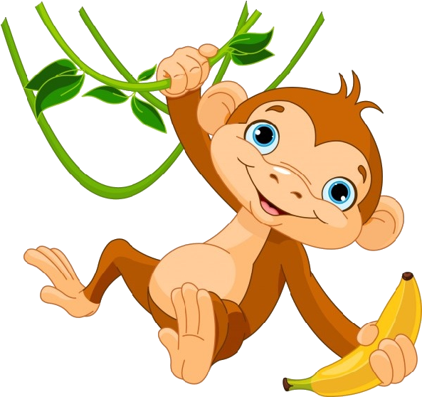 HD Monkey Images Clipart.
