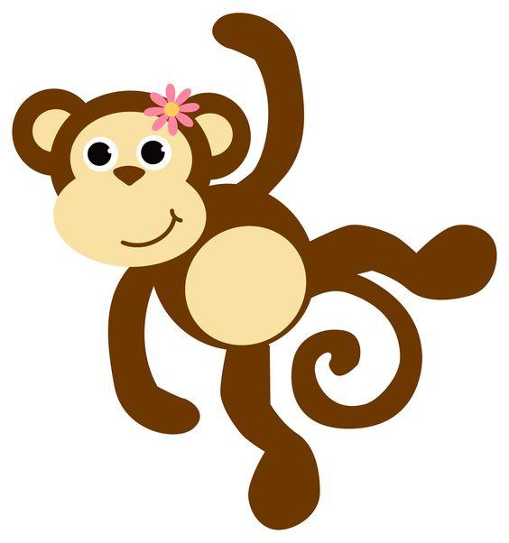 Dibujos A Color ♥: Monos Graciosos.