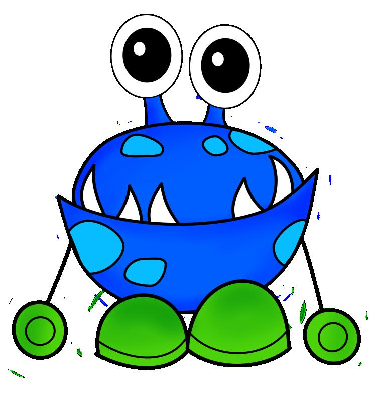 Monster clip art vector monster graphics clipart me.