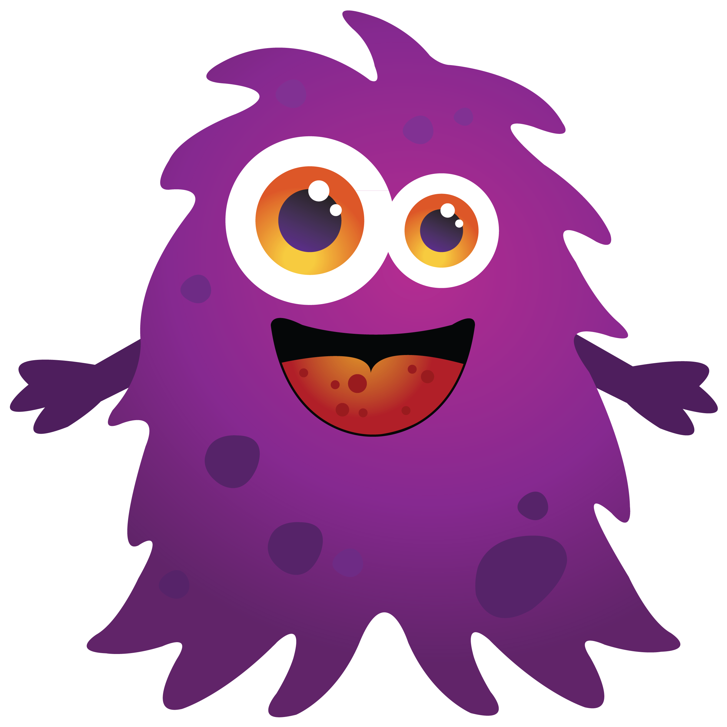Free Monster Clip Art Pictures.