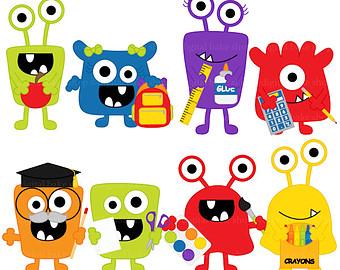 Monster Clipart For Teachers.