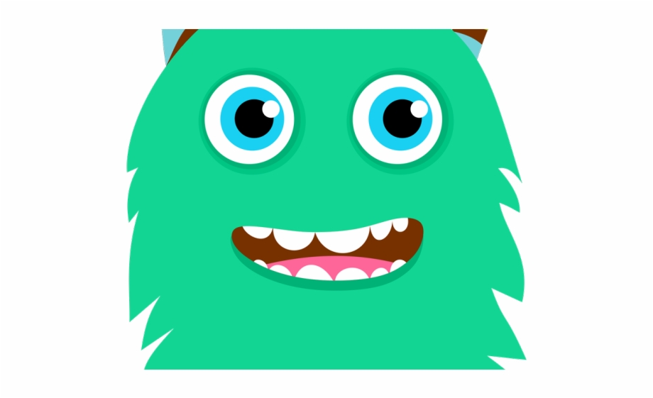 Beast Clipart Tooth Cute Little Monster Clipart.