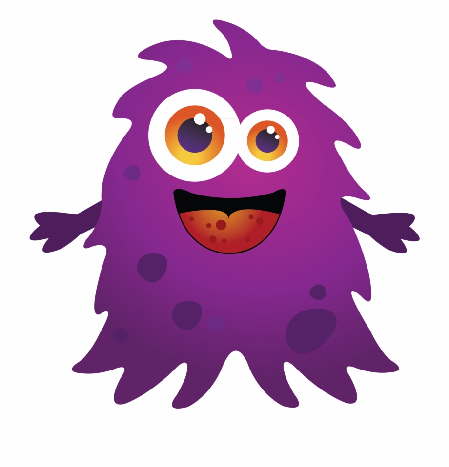 Purple Cartoon Monster Images Kid Png Image Clipart.