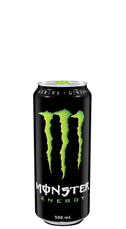 Monster Energy Green.