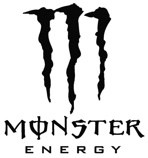 Monster Energy Stencil.