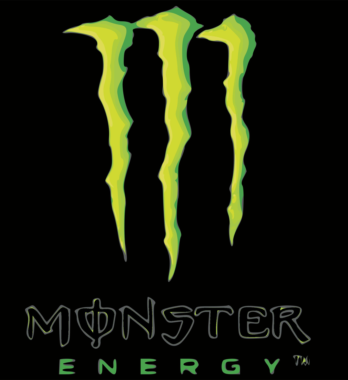 Monster Energy Logo PNG Transparent & SVG Vector.