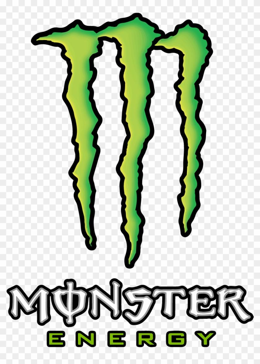 Monster Energy Logo Vector Transparent Vertical.
