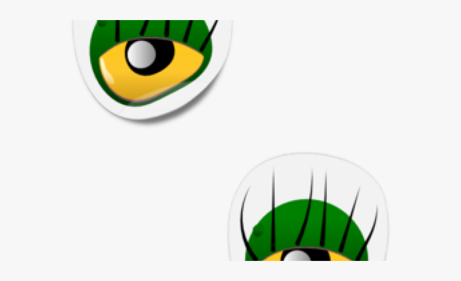 Green Eyes Clipart Two.