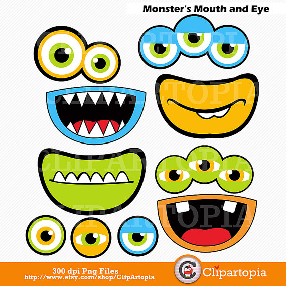 41+ Monster Eyes Clipart.