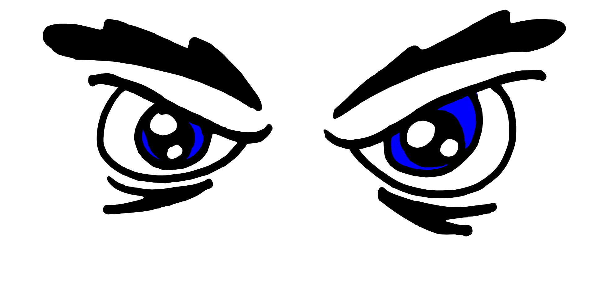 Free Clip art of Eyes Clipart Black and White #3180 Best Monster.