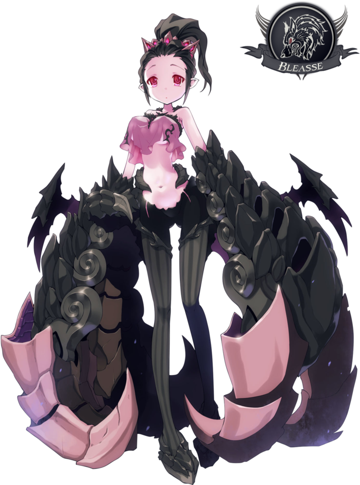 HD Monster Girl Png Png Freeuse Library.
