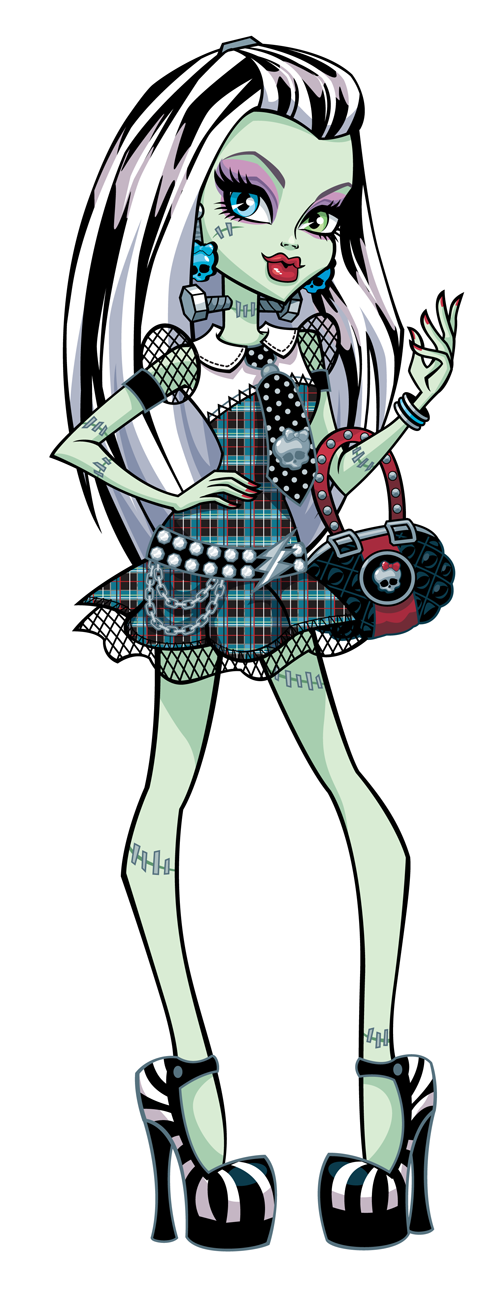 Monster High Clipart Frankie Stein.