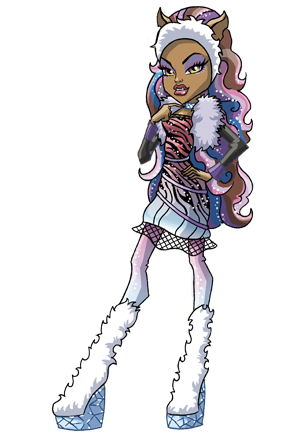 All about Monster High: Freaky Fusion Clawdeen, Celo, Draculaura.