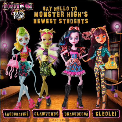Monster High Clipart Freaky Fusion.