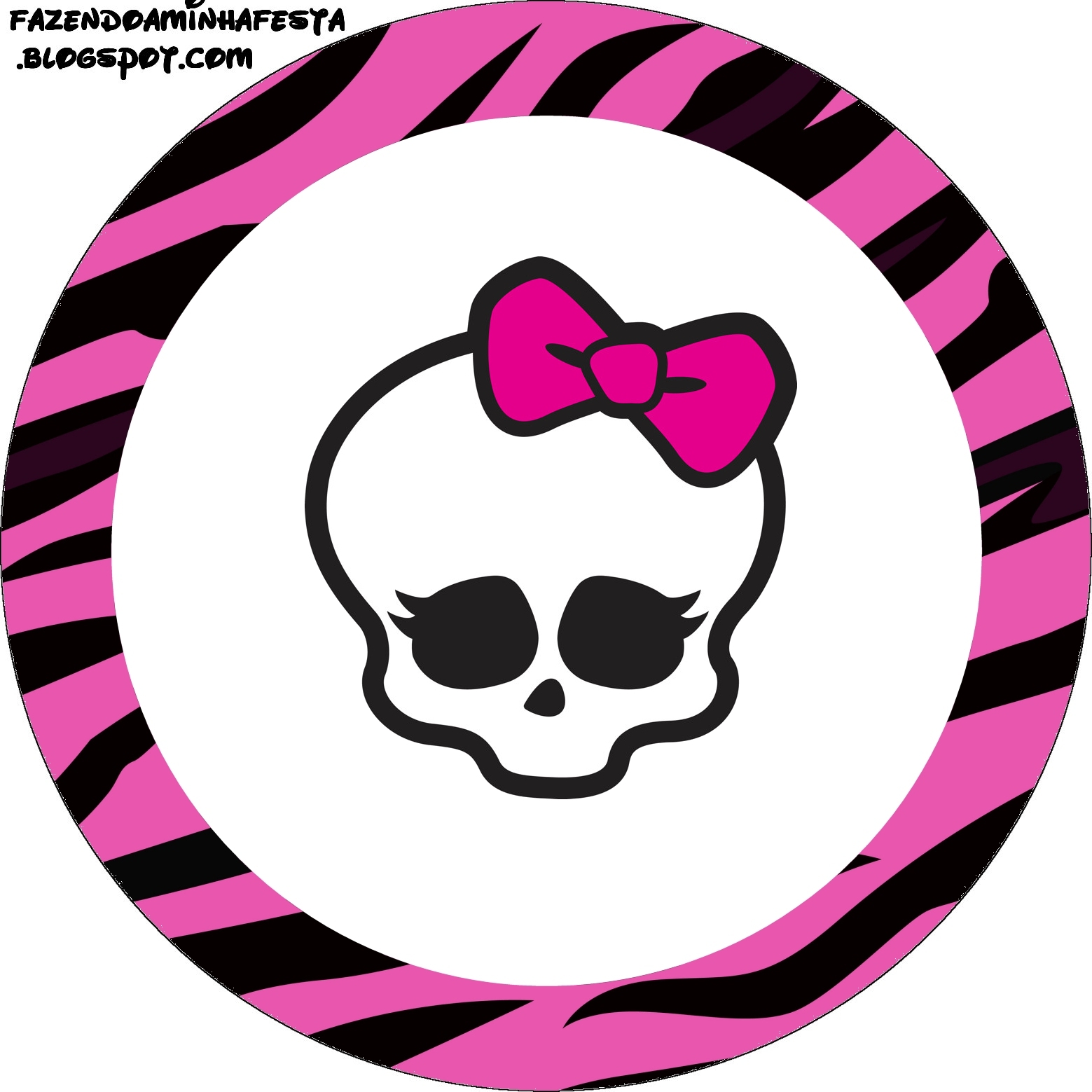 Free Printable Monster High Clipart.