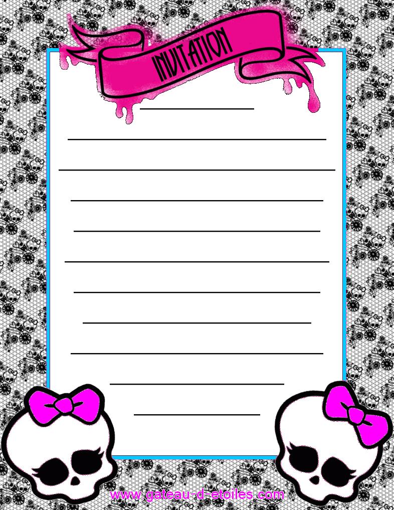 Pink Monster High Mini Kit..