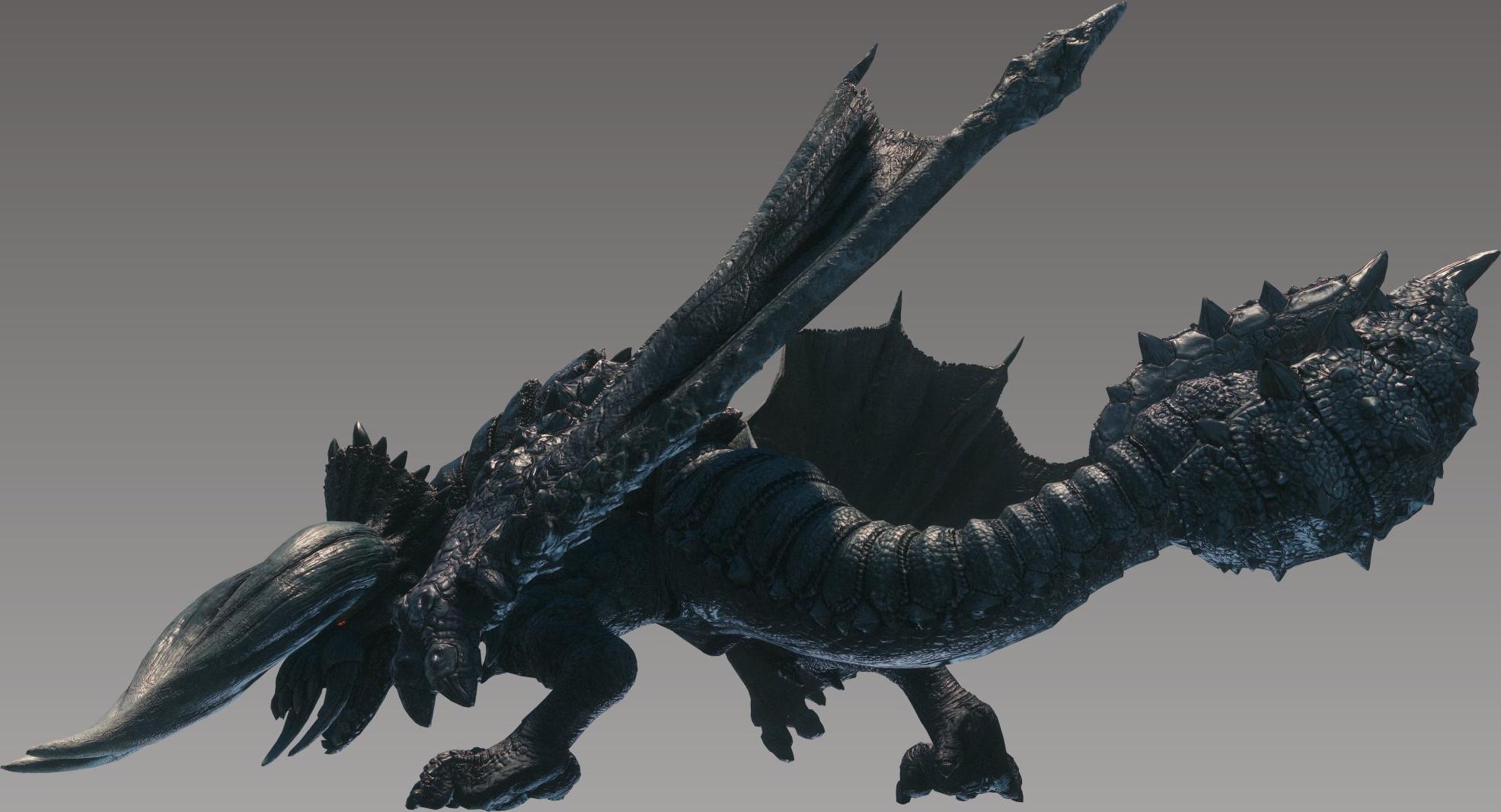 Black Diablos/Monster Hunter World.