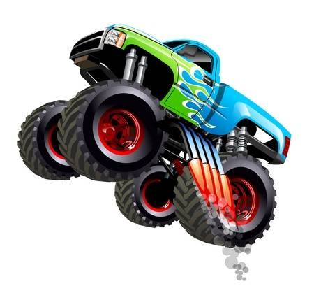 627 Monster Truck Cliparts, Stock Vector And Royalty Free.