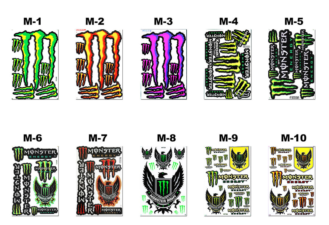 Monster Decals.