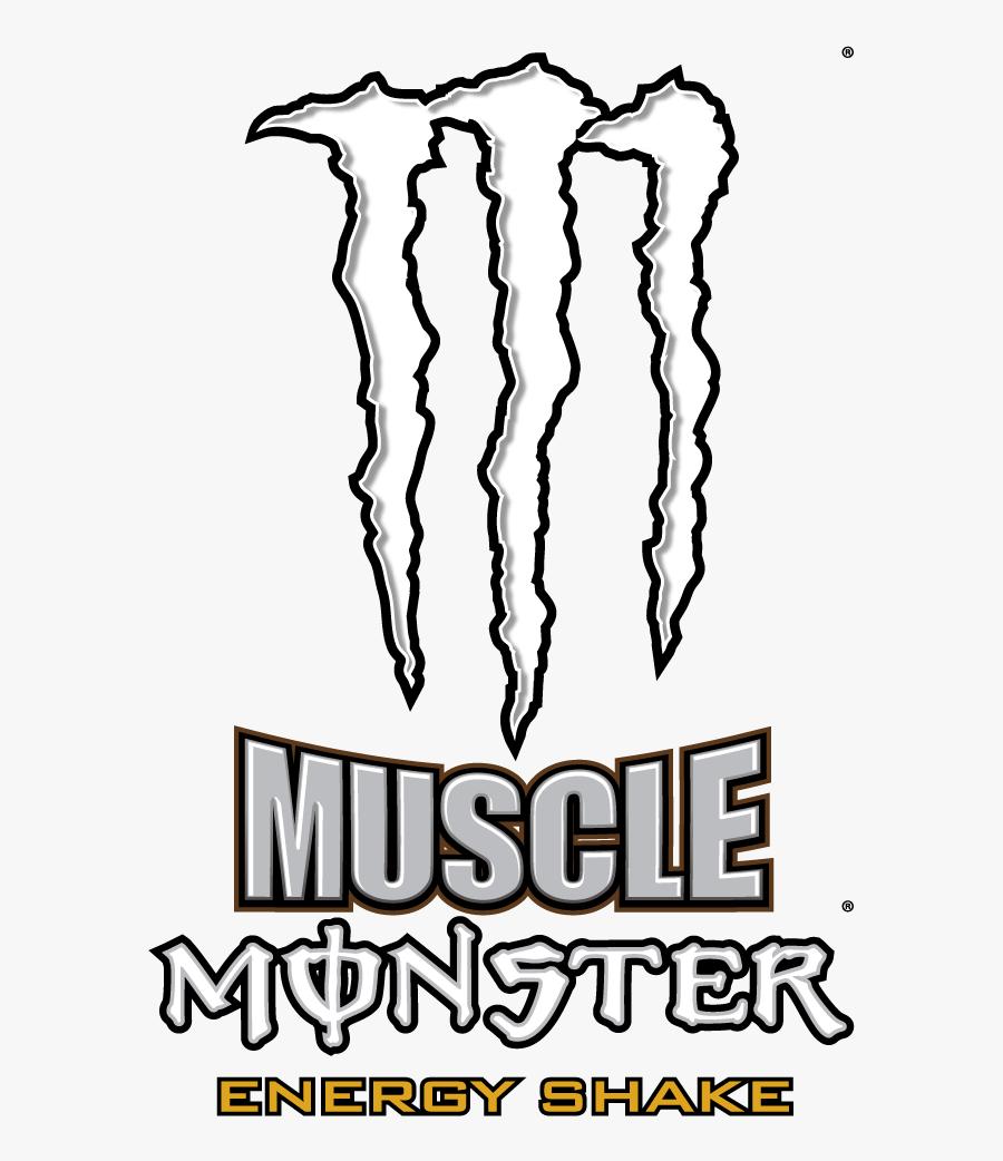 Monster Energy Logo Energy Drink Drawing.