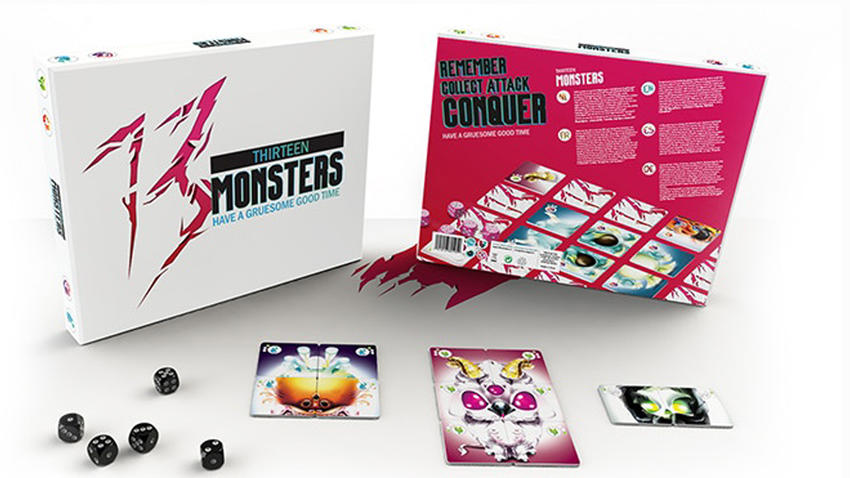 Collect and create your own beasties in memory board game 13.
