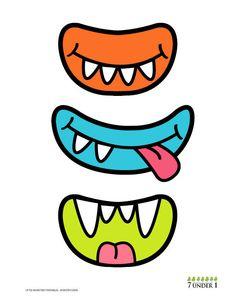 puzzle little monster con color imprimir.