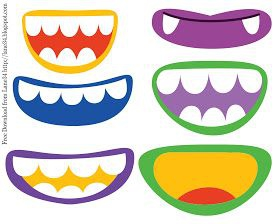 Monster Mouth Clipart#2154121.
