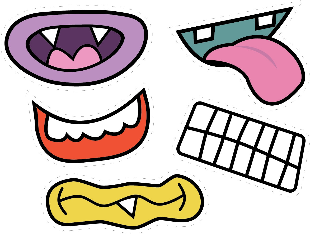Monster Mouth Clipart#2154116.