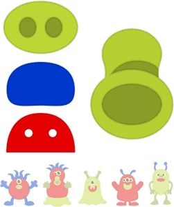 Monster Nose Clipart.
