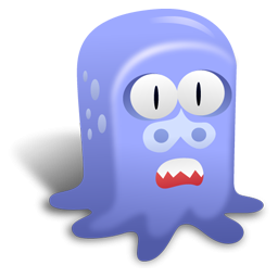 Monster With Big Nose Icon, PNG ClipArt Image.