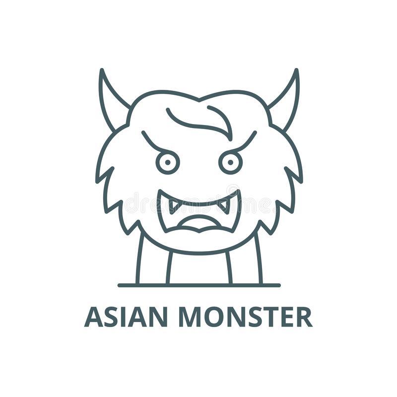 Monster Outline Stock Illustrations.