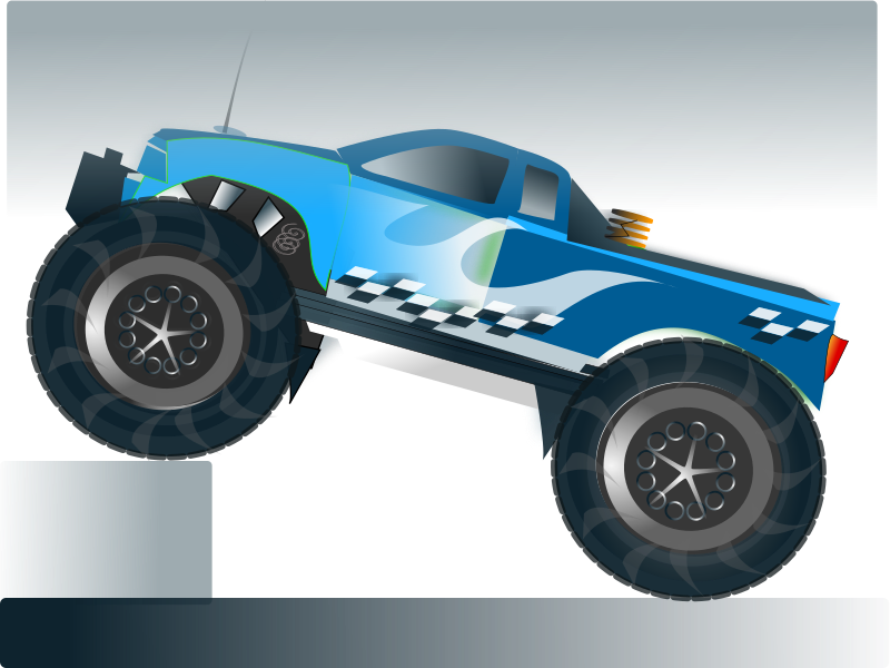 Vector and Monster Truck Free 6806 Favorite ClipartFan.com.
