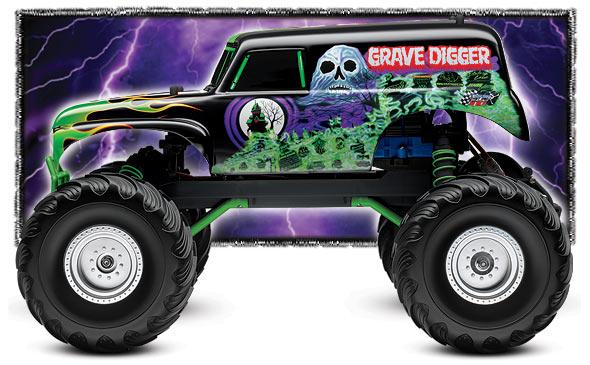 Monster Truck Body Clipart.