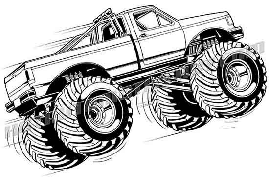 Airborne Monster Truck.