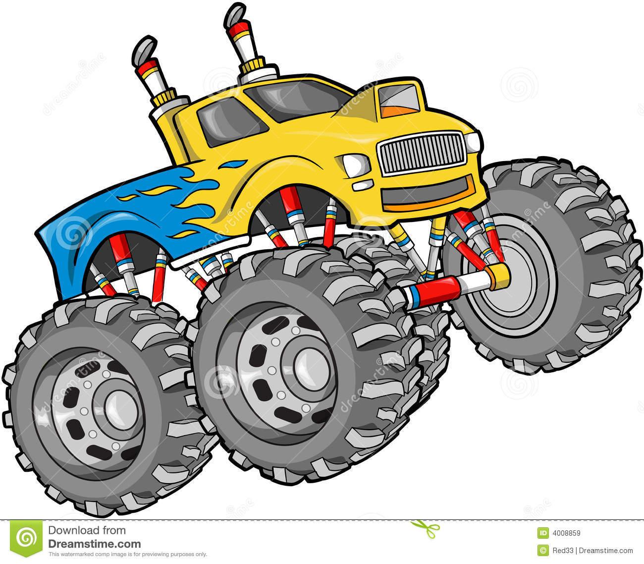 monster truck pictures clip art #3