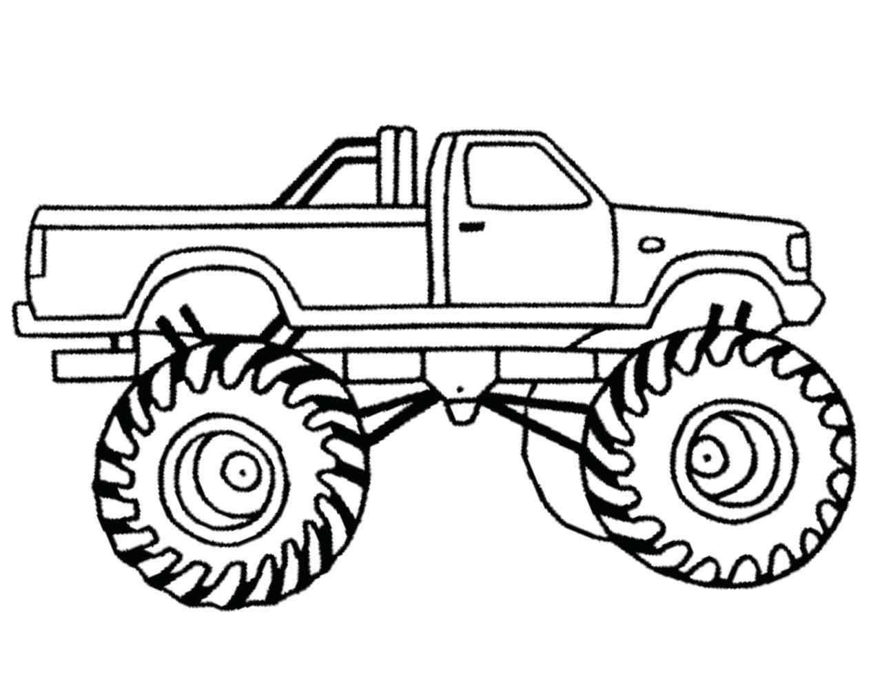 Monster truck clipart black and white 6 » Clipart Portal.