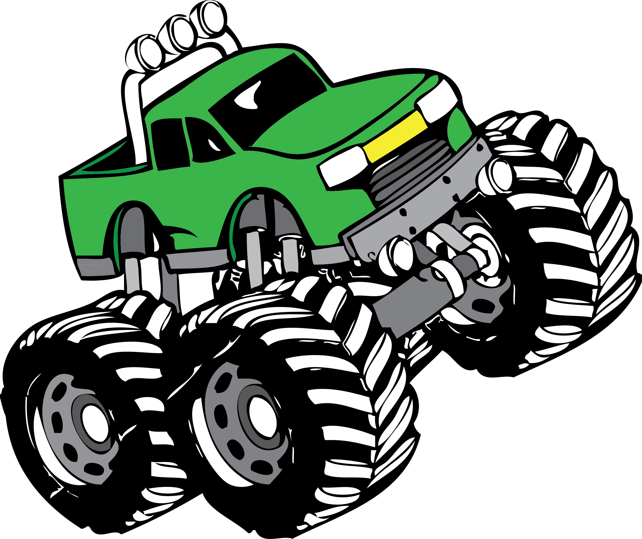 Monster Truck Clip Art Pictures.