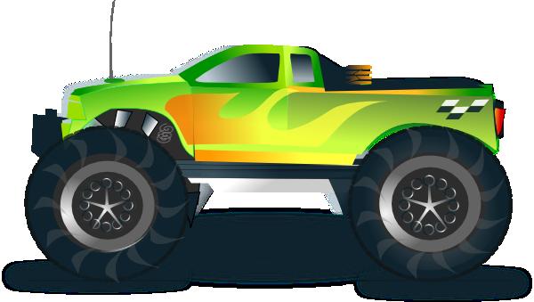 Monster Truck Free Clipart.
