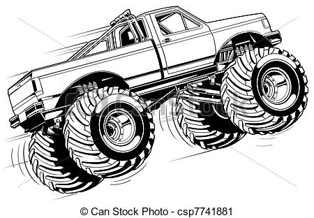 Monster Truck Clipart Clipground
