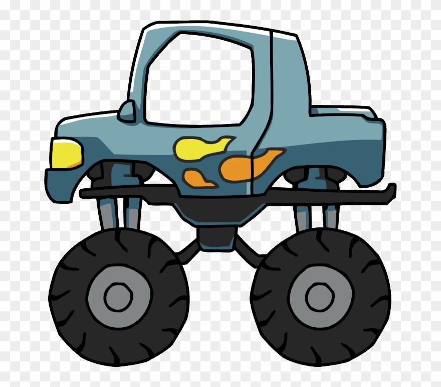 Elemental Clipart Truck.